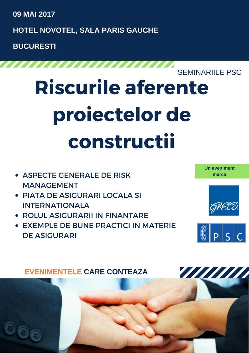 Riscurile aferente proiectelor de constructii