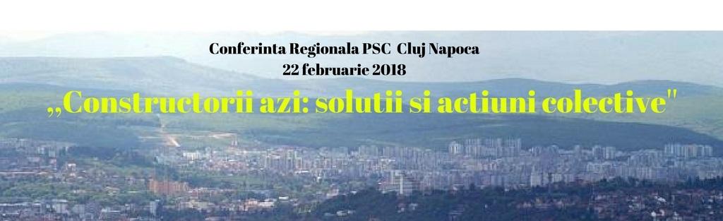 Conferinta Regionala Cluj Napoca22 februarie 18